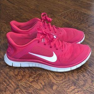 best sneakers 164af 074ea Women Nike Free 4.0 Running Shoes on Poshmark
